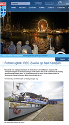 Fototerugblik_ PEC Zwolle op Sail Kampen - Nieuwsarchief - PEC Zwolle