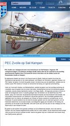 PEC Zwolle op Sail Kampen - Nieuwsarchief - PEC Zwolle